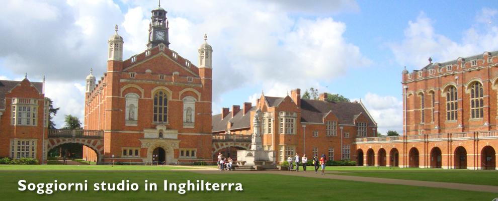 Soggiorni studio in Inghilterra
